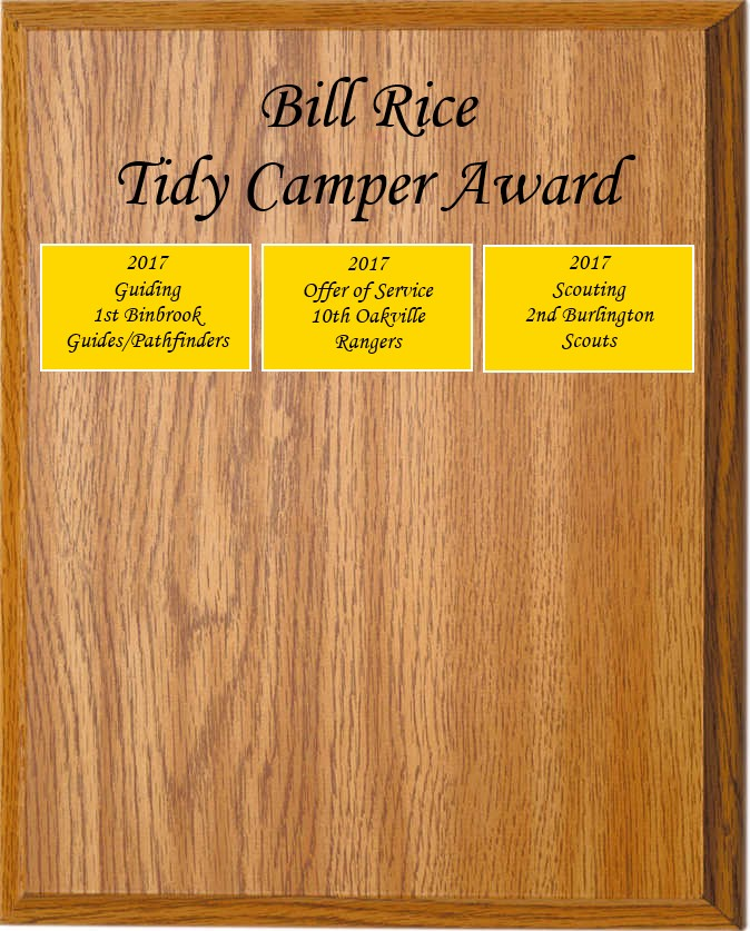TidyCamperPlaque2017